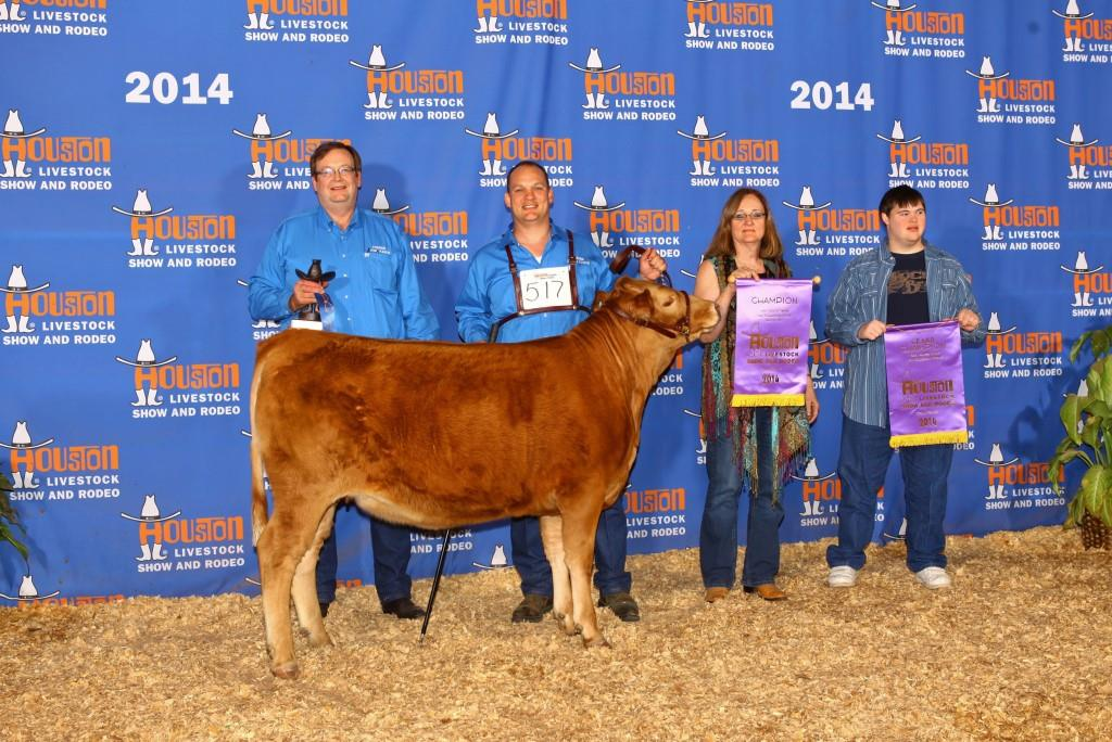 2014 Houston Livestock Show Grand Champion Red Wagyu Heifer