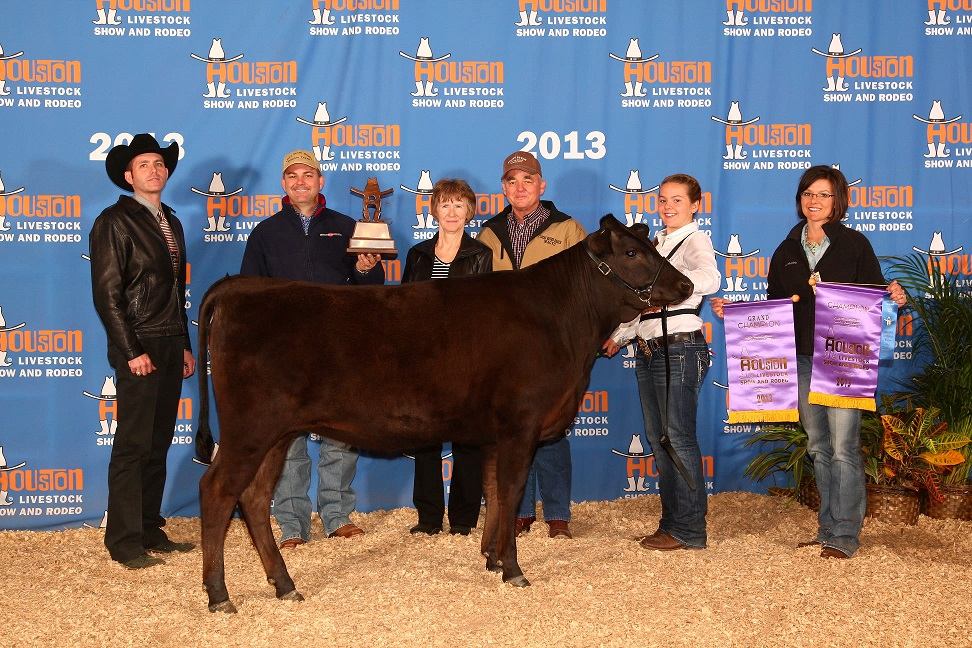 2013 Houston Livestock Show Grand Champion Female