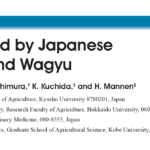 Scientific Study Report:  Meat Produced By Japanese Black Cattle And Wagyu""