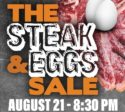 The Steak and Eggs Sale